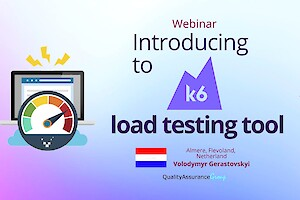 Вебінар: Introducing to k6 load testing tool